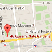 Google Maps UK-Queen's