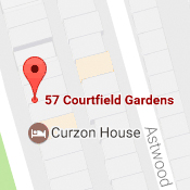 Google Maps UK-Courtfield
